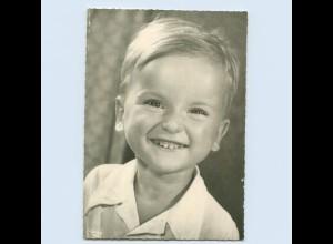 X1Q65/ Verlag Popp Kind Junge lacht ca.1965 Foto AK
