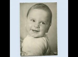 X1Q66/ Verlag Popp Kind mit den ersten Zähnchen ca.1965 Foto AK