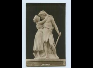 H152/ Skulpturen Foto AK Erdmann Encke ca.1912