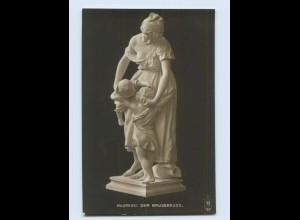 H157/ Skulpturen Foto AK Madrassi ca.1912