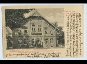 """A9658-2211/ Münsterdorf b. Itzehoe Gasthof """"Zum grünen Kranz"""" AK 1902"""