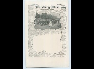 F374/ Military Mail Newspaper Zeitung AK London ca.1905
