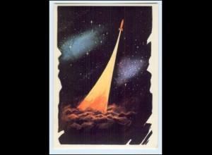 A7642/ Raumfahrt Rußland Zukunft 1964 keine AK