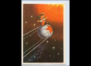 A7644/ Raumfahrt Rußland Zukunft 1964 keine AK