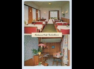 W9M07/ Ostseebad Hohwacht Hote-Cafe Fischerklause AK ca.1965