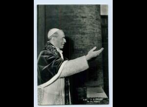 W9N59/ Pabst Pius XII Foto AK ca.1955