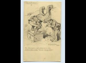 F820/ K. Pommerhanzsen 1. Weltkrieg Humor AK 1916