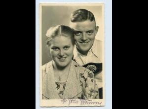 X1B59/ Geising Erzgeb. Geschwister Fromme Volkslieder-Sänger Foto AK ca.1935