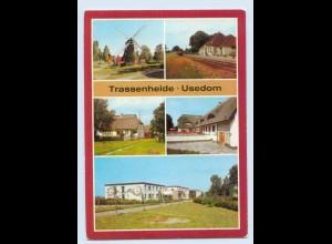 F022-174./ Trassenheide Usedom Kr. Wolgast AK