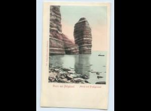 H543/ Gruß aus Helgoland schöne AK 1904