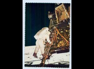 W9Y87/ Raumfahrt Mondlandung 1969 Kodak AK