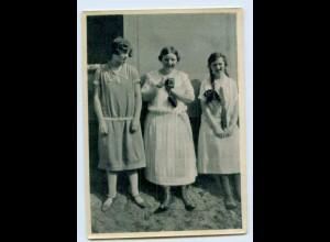 W9O19/ Königin Wilhelmina v. Niederlande mit Fotoapparat AK