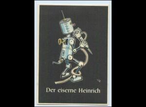 """W8J62/ Bergbau Humor AK Der Eiserne Heinrich - """"Lustige Gezähekiste"""" ca.1955"""