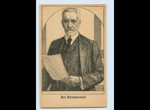 E039/ Der Reichskanzler Bethmann-Hollweg AK