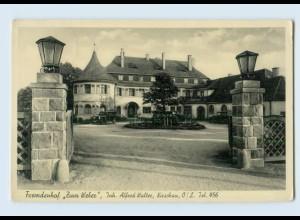 "M275-026./ Kirschau Fremdenhof ""Zum Weber"" AK 1936"