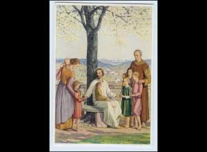 W8F15/ W. Haller AK Religion Verlag: Ars cacra Josef Müller 1943