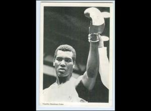 W8A18/ Boxen Schwergewicht Theofilo Stevensen Olympiasieger 1972 AK