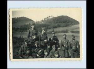 W7Y22/ Teschen Original Foto Soldaten 2. Weltkrieg ca.1941 Polen