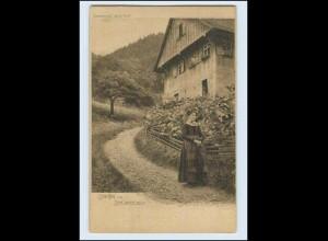 W7V10/ Schwarzwald Idylle No. 37 AK Joh. Elchlepp ca.1900