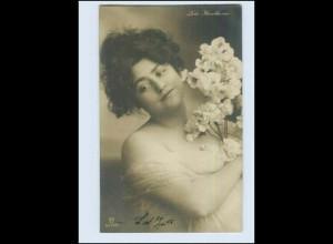 W7E07/ Frauen - Lola Hawthorne schöne Foto AK 1906 (b)