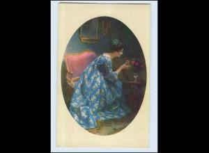 W7B78/ Meissner & Buch junge Frau schöne AK ca.1920 (b)
