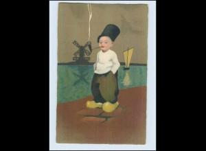 W7B77/ Meissner & Buch Litho AK holländisches Kind ca.1920 (b)