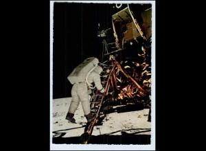 W6Q77/ Raumfahrt Astronaut Edwin Aldrin Mondlandung 1969 Krüger AK (b)