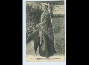 W6M27/ Histoire du Costume en Normandie AK Trachten ca.1910