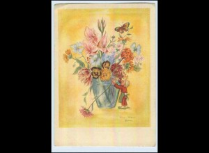 W6L85/ Lisa-Marie Blum Künstler AK Blumen 1940