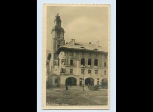W9S37/ Bozen Rathaus Foto AK ca.1935