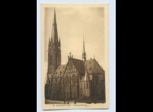 W9S45/ Saarbrücken Johanniskirche AK ca.1920