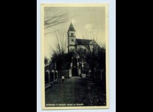 W9S51/ Dusniky u Prahy Kostel na Homoli AK 1938