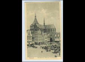 A1820/ Rostock Marienkirche AK ca.1912